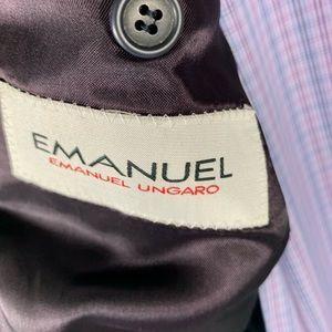 Emmanuel Ungaro Suits & Blazers - Emmanuel Ungaro Covarra Black Sport Coat Sz 40L